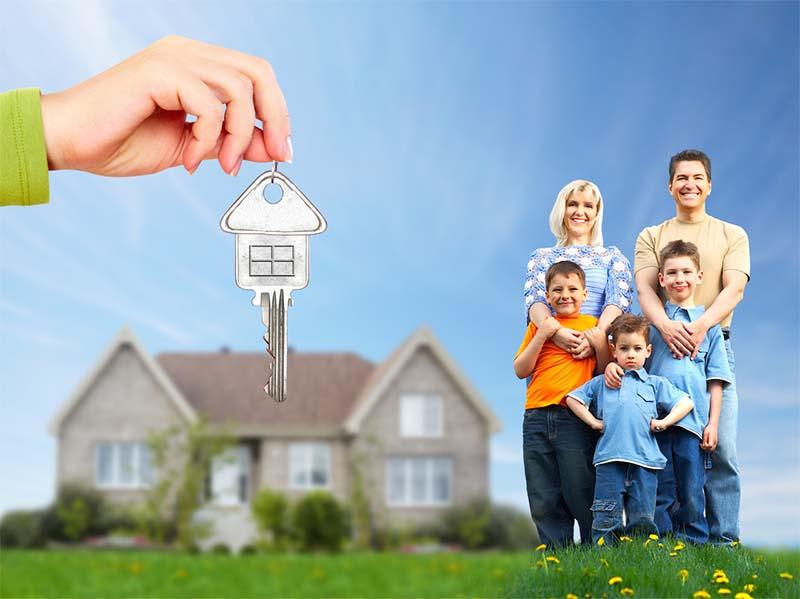 family-with-key-happy