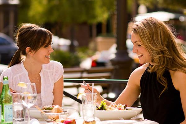 Ormiston Town Center - Women Having Lunch